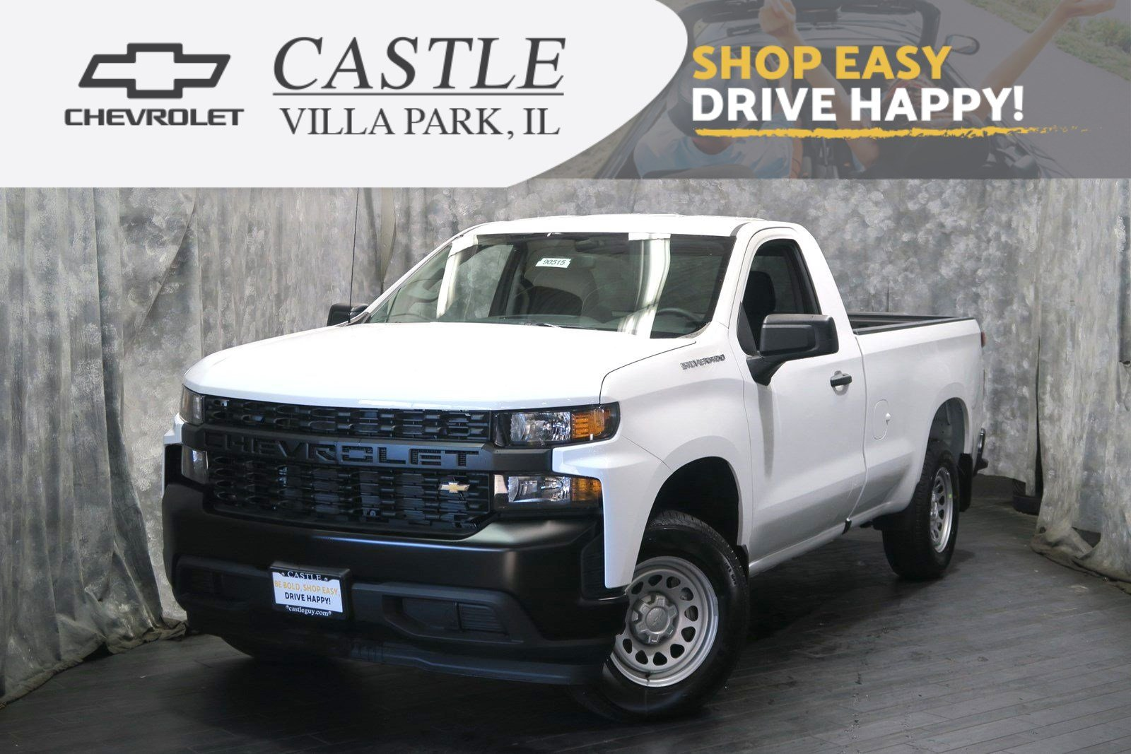 Chevy Work Truck >> New 2019 Chevrolet Silverado 1500 Work Truck Rwd Regular Cab Pickup