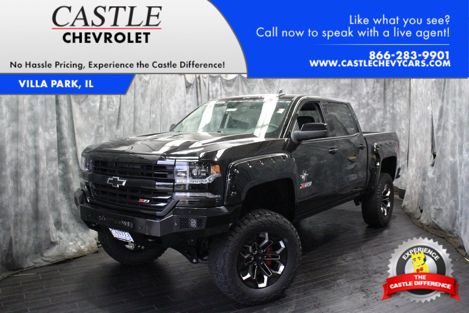 New 2018 Chevrolet Silverado 1500 Ltz Crew Cab Pickup In Elk Grove